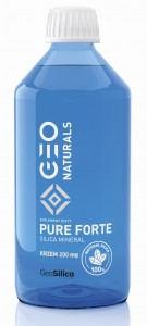 GEONATURALS, PURE SILICA FORTE - Krzem Forte 200 mg x 500 ml