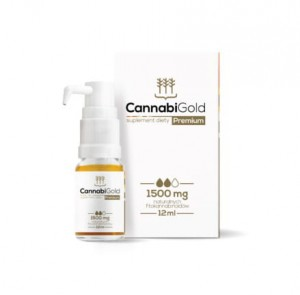 CannabiGold Premium 1500 mg 12ml