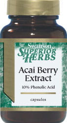 Acai Berry Extract  500mg 60 kapsułek